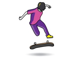 Animated Skateboard tricks for you and your friends to put on your text