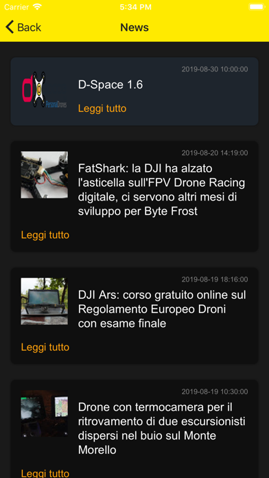 Screenshot for D-Space in United States App Store