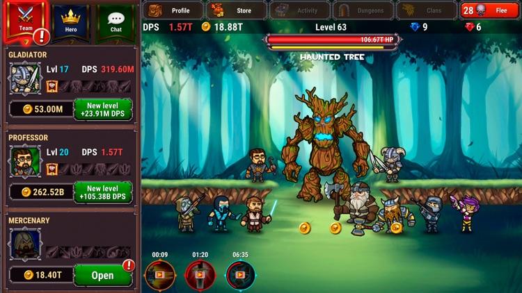 Taptic Heroes: Monsters Attack screenshot-0