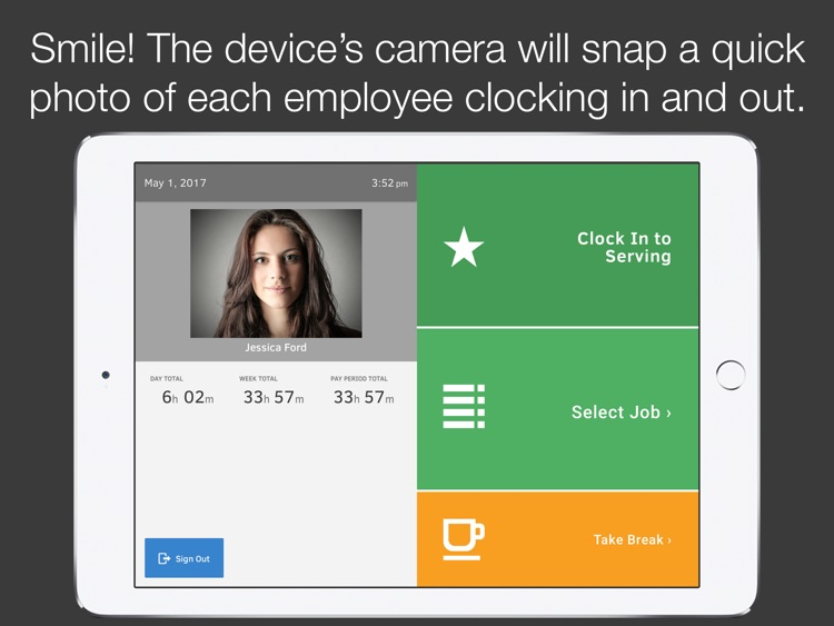 TSheets Time Clock Kiosk screenshot-3