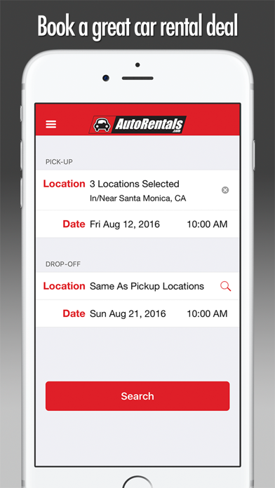 Car Rentals - AutoRentals.com screenshot