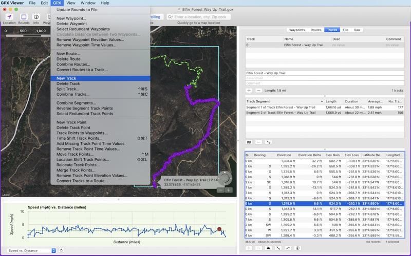 GPX Editor Screenshot
