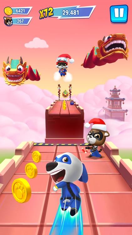 Talking Tom Hero Dash Run Game screenshot-4