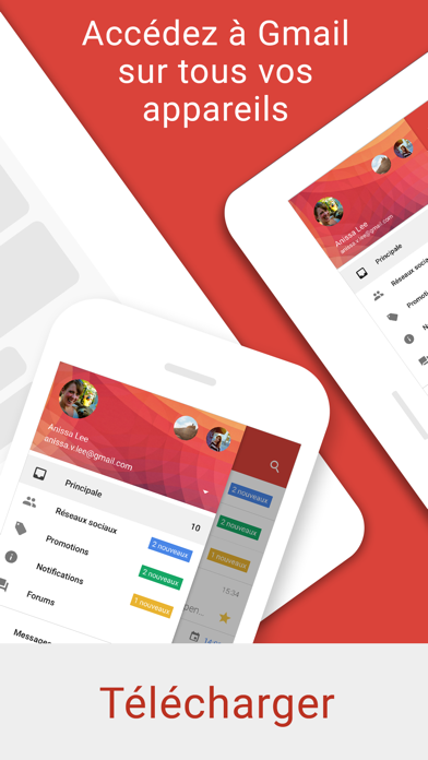 Screenshot for Gmail – l'e-mail Google in Lebanon App Store