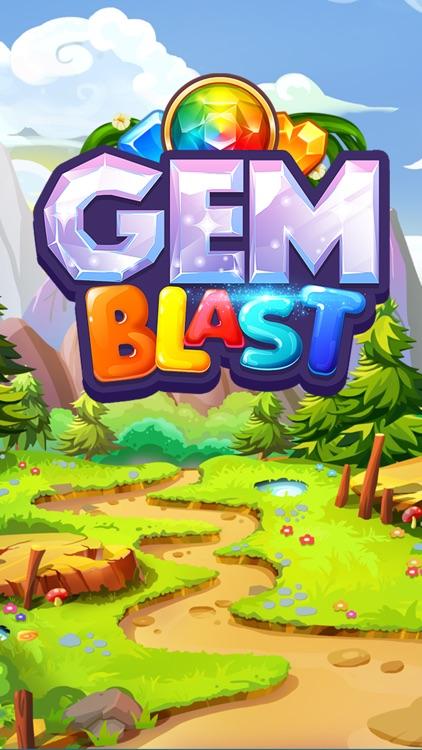 Gem Blast Match-3 Jewel Crush screenshot-4
