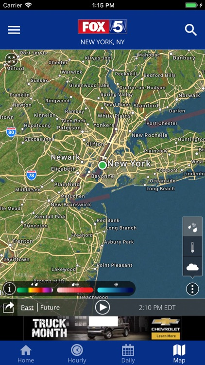 FOX 5: NY Weather & Radar screenshot-3
