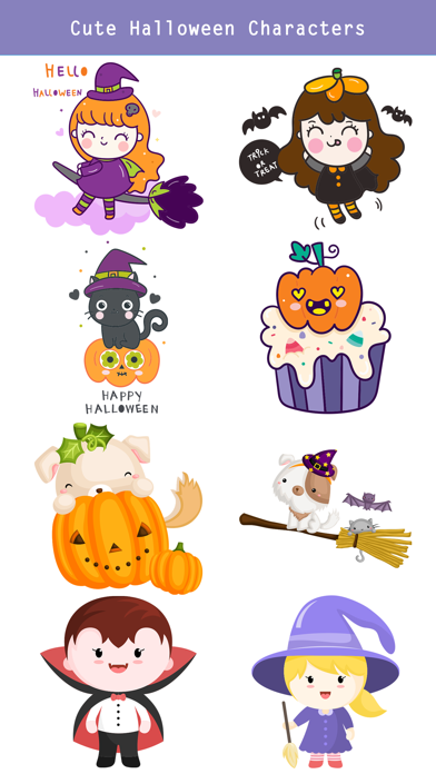 260+ Cute Hand Drawn Halloween screenshot 4