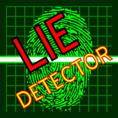 Lie Detector Fingerprint Scan