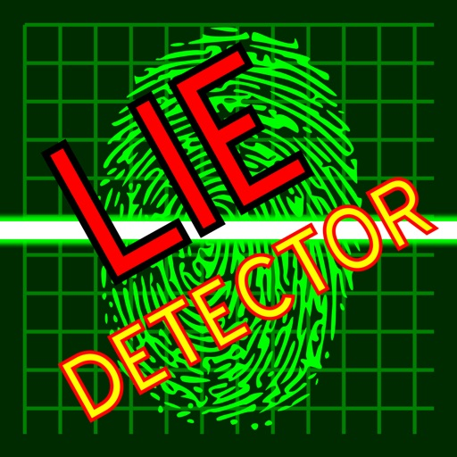 Lie Detector Fingerprint Scan