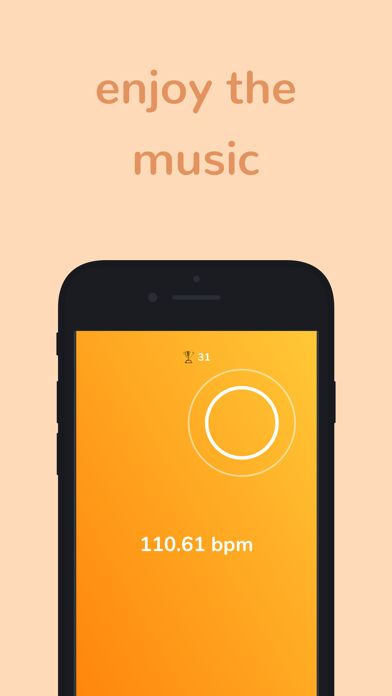 bpm - Tap Tempo Counter + Game screenshot two