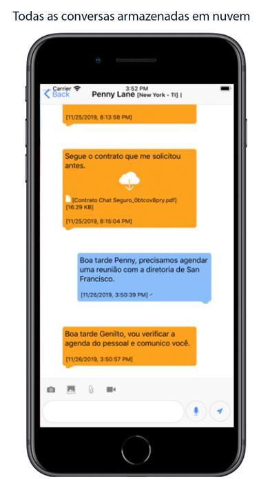 Screenshot of Chat Seguro3
