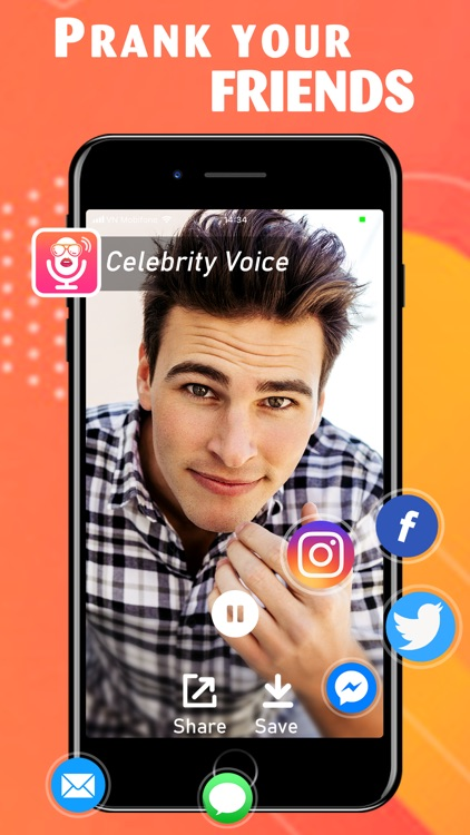 Celebrity Voice Changer + App screenshot-4