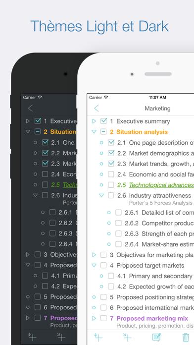 Screenshot #2 pour Cloud Outliner Pro