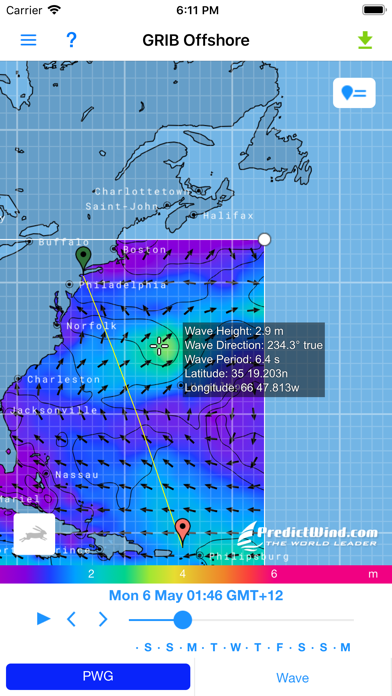 PredictWind Offshore Weather på PC