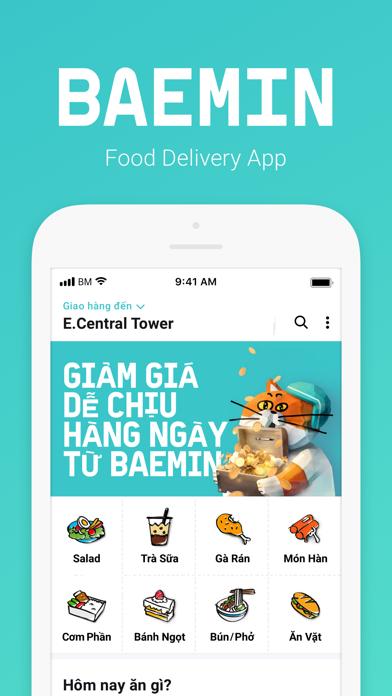 Tải về BAEMIN - Food delivery cho Pc