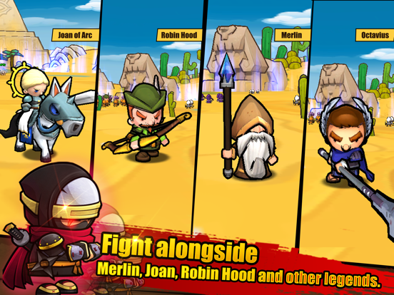MiniWarriors.io screenshot 8