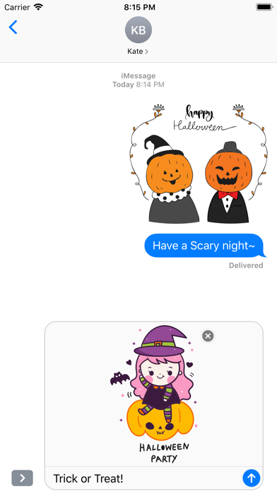260+ Cute Hand Drawn Halloween screenshot 2