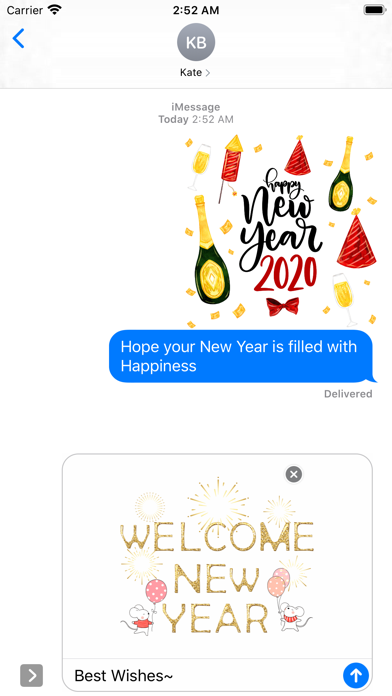 Happy New Year - 2020 Stickers screenshot 2