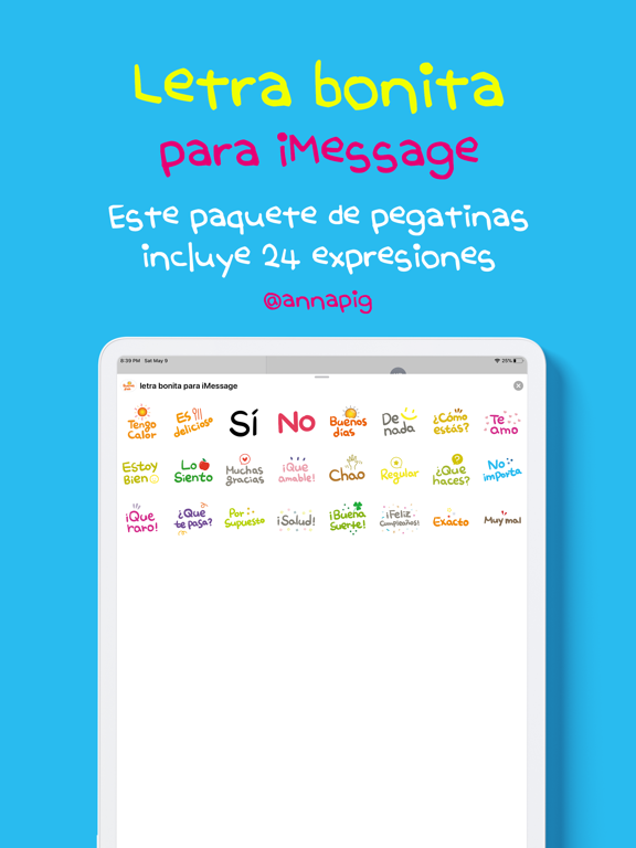 letra bonita para iMessage screenshot 6