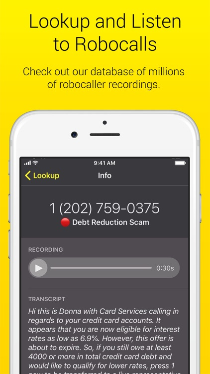 Nomorobo Robocall Blocking screenshot-5