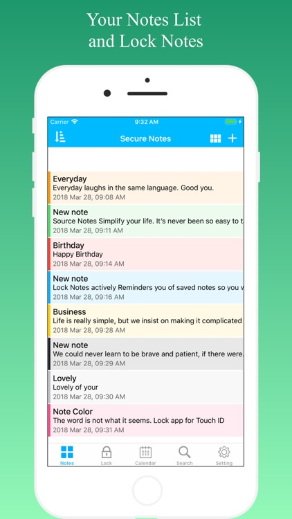 Lock Notes - Sticky Notes screenshot-3