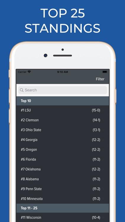 UNLV Football Schedules screenshot-5