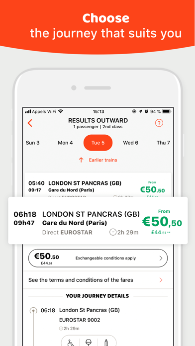 download OUI.sncf: Train & Bus tickets for PC