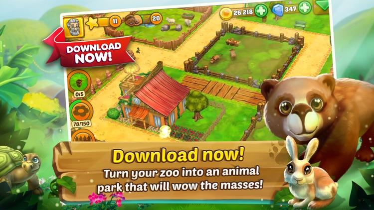 Zoo 2: Animal Park screenshot-3