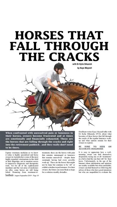 Hoofbeats MagazineScreenshot of 4
