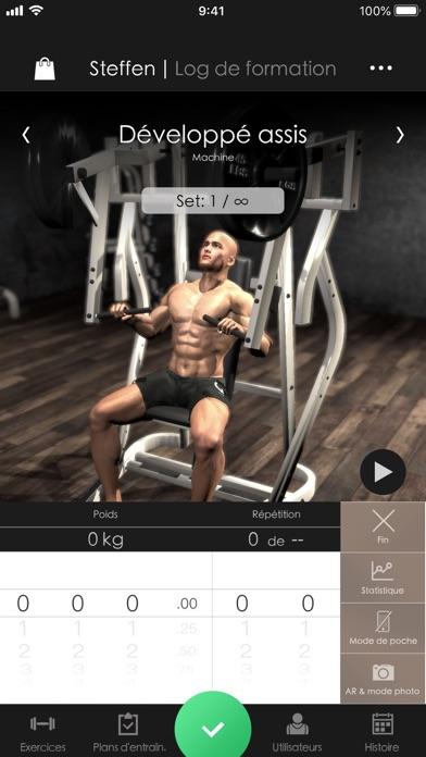 Screenshot #1 pour Gymnotize Pro Musculation