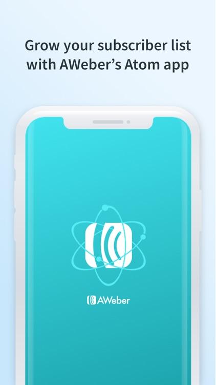 Atom - Subscriber Sign-up App screenshot-0