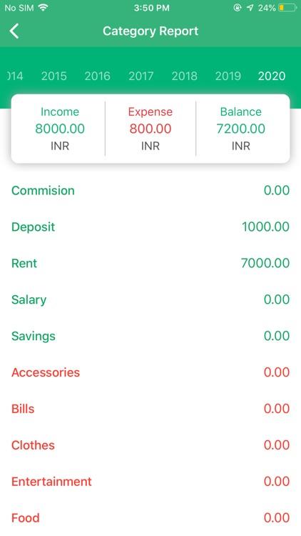 Expense Manager - Daily Budget screenshot-5