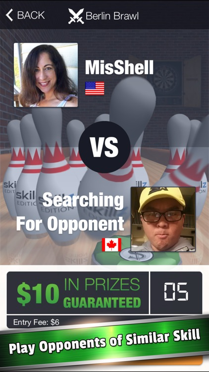 10 Pin Shuffle Tournaments