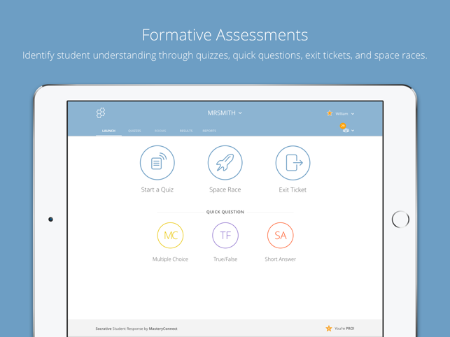 ‎Socrative Teacher Screenshot