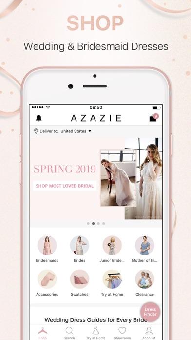 Azazie:Shop Bridesmaid Dresses screenshot