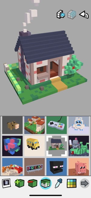 Particubes - voxel editor on the App Store