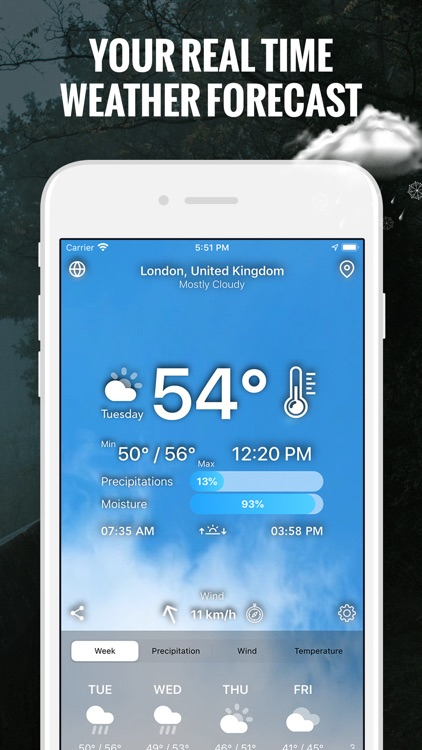The Weather App - Live Today