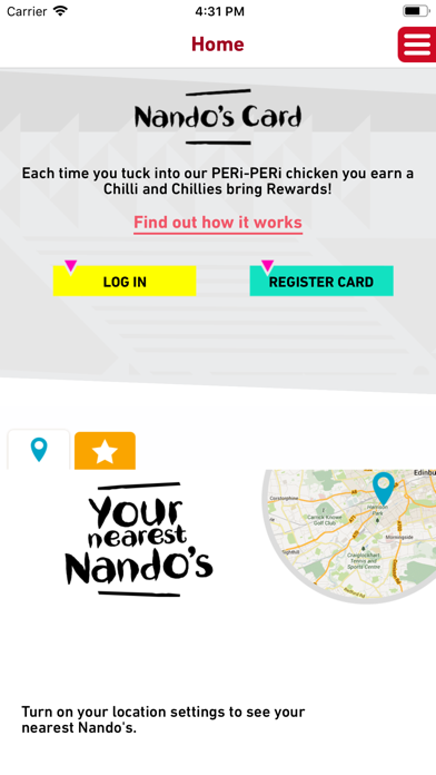Nando's screenshot one