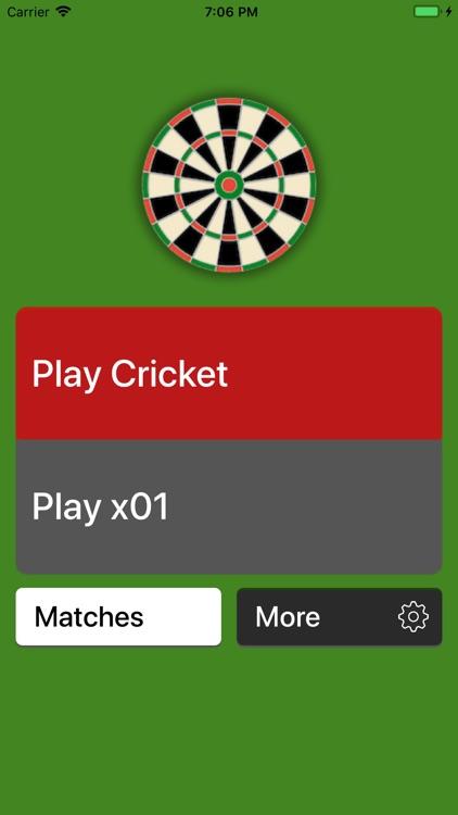 Simple Darts Scoreboard