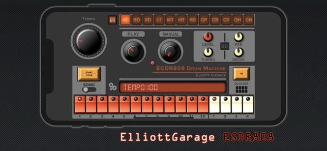 EGDR808 Drum Machine lite on the App Store