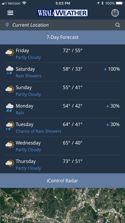 WRAL Weather screenshot-5