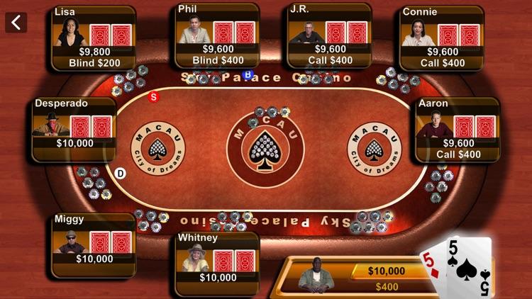 Texas Hold'em screenshot-4