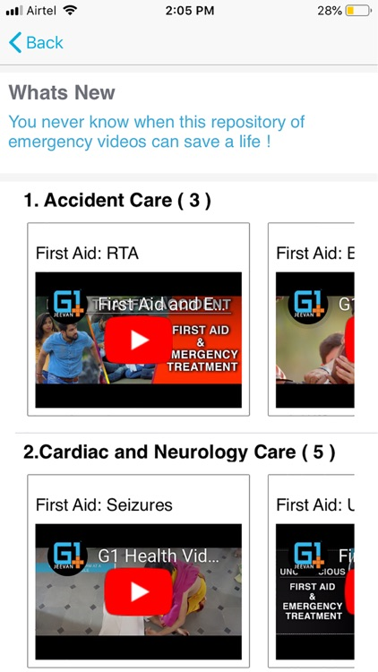 G1 Health - CallAmbulance screenshot-1