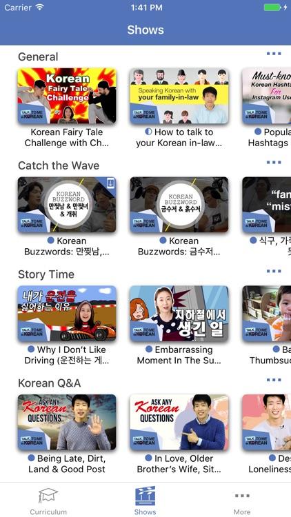 Talk to Me in Korean Lessons+ screenshot-3
