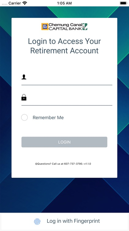Chemung Canal Retirement App screenshot-0
