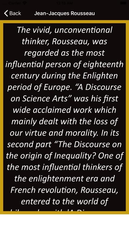 Jean-Jacques Rousseau Wisdom screenshot-3