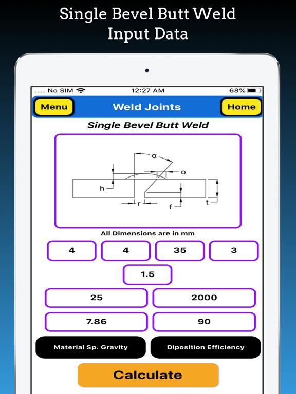Welding Weight Calculator Pro screenshot 17