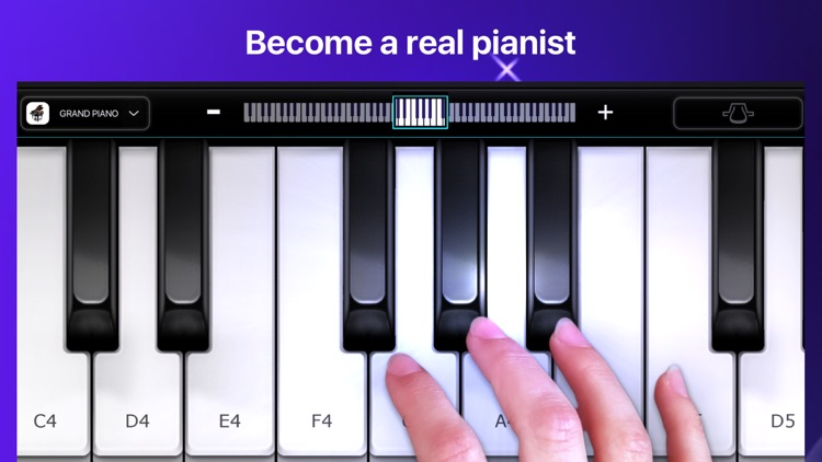 Piano - simply game keyboard screenshot-0