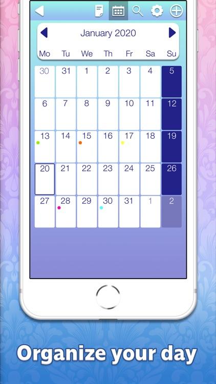 Note Writer Calendar Planner