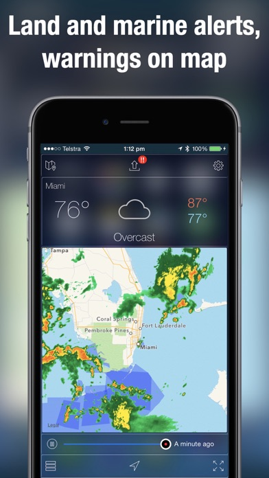 Screenshot for Weather Radar Map Live in United States App Store